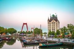 Rotterdam sikt Royaltyfri Foto