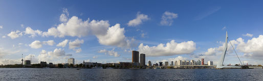 Rotterdam skyline Royalty Free Stock Photos