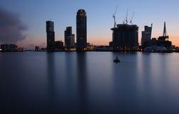 Rotterdam skyline Royalty Free Stock Photography