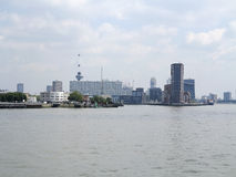 Rotterdam skyline Royalty Free Stock Images