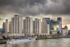 Rotterdam-Skyline Lizenzfreies Stockfoto
