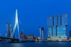 Rotterdam-Skyline Stockbilder
