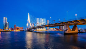 Rotterdam Skyline Stock Photo