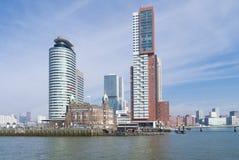 Rotterdam skyline Royalty Free Stock Photo
