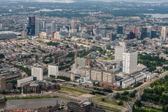 Rotterdam Skyline Royalty Free Stock Image