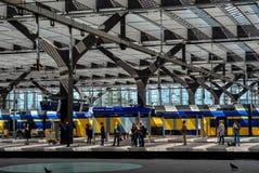 Rotterdam station royaltyfri fotografi