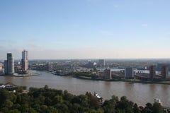 Rotterdam sul Fotografia de Stock Royalty Free
