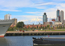 Rotterdam, toglie della città di Phoenix fotografie stock libere da diritti