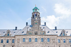 Rotterdam Town Hall, the Netherlands in Spring Royalty Free Stock Photography