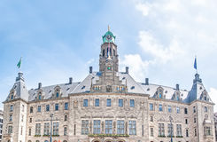Rotterdam Town Hall, the Netherlands in Spring Stock Image