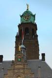 Rotterdam urząd miasta wierza Fotografia Royalty Free