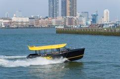 Rotterdam vattentaxi Royaltyfri Fotografi