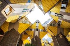 Rotterdam-Würfel-Häuser Stockbild