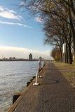 Rotterdam walkway Royalty Free Stock Images