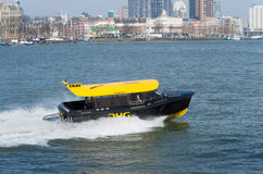 Rotterdam water taxi Royalty Free Stock Images