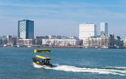 Rotterdam water taxi Stock Images