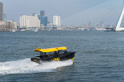 Rotterdam water taxi Royalty Free Stock Image