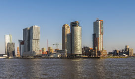 Rotterdam Wilhelminapier Day Royalty Free Stock Photos
