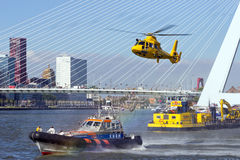 Rotterdam world harbor days Royalty Free Stock Image