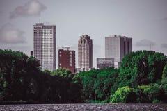 Rotterdan stadssikt Arkivbilder