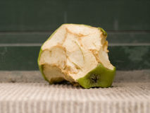 Rotting Apple Stock Image