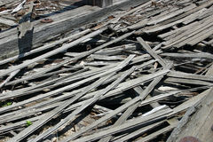 Rotting boards Stock Photography