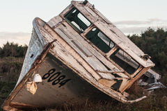 Rotting fishing boat Royalty Free Stock Photo
