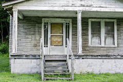 Rotting house in the Alabama backwoods Stock Images