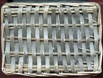 Rotting som göras från trä Brun trätexturbakgrund av rotting med naturliga modeller Arkivbild