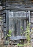 Rotting wooden door Royalty Free Stock Photo