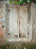 Rotting wooden door Royalty Free Stock Photos
