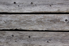 Rotting wooden fence Royalty Free Stock Image