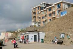Rottingdean沿海岸区,苏克塞斯,英国 库存照片