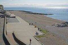 Rottingdean的,苏克塞斯,英国沿海岸区 库存照片