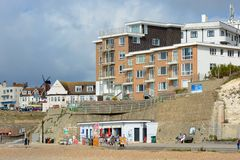 Rottingdean Seafront, Sussex, England Royalty Free Stock Photo