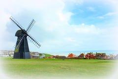 Rottingdeanwindmolen Sussex ENGELAND het UK Royalty-vrije Stock Foto