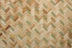 Rottingtextur, detalj handcraft bambu som väver texturbakgrund arkivbilder