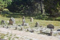 Rottnest海岛的公墓 库存照片