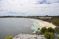 Rottnest海岛:沿海地带逗留 免版税库存照片