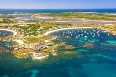 Rottnest-Insel-Pink See stockbilder