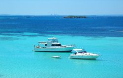 Rottnest Island. Lagoon at Rottnest Island, Australia stock photo