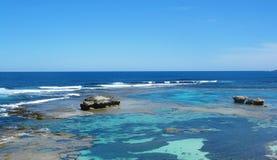Rottnest Island. Lagoon at Rottnest Island, Australia Stock Image
