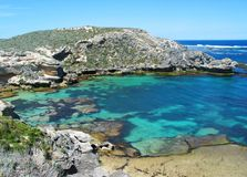 Rottnest Island. Western End of Rottnest Island, Australia royalty free stock photo