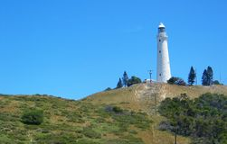 Rottnest Island. Lighthouse at Rottnest Island, Australia stock photos