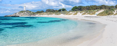 Rottnest Island beach Royalty Free Stock Photos