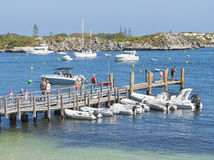 Rottnest Island Jetty Stock Photo
