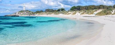 Rottnest wyspy plaża Zdjęcia Royalty Free