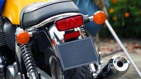 Rottura del bigbike del motociclo e luce di segnalazione di giro Fotografie Stock Libere da Diritti