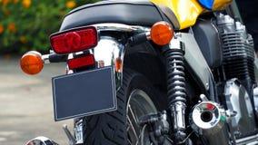 Rottura del bigbike del motociclo e luce di segnalazione di giro Fotografie Stock