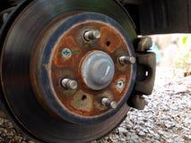 Rottura del disco dell'automobile Fotografia Stock Libera da Diritti